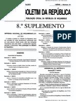 17 Protocolo Sobre Extradição I Serie No 51 Suplemento 8 28 de Dezembro de 2010