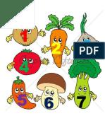 Belajar Makanan Sayuran