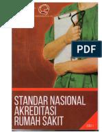 Cover Standar Akreditasi Snars Edisi 1