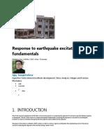 Response to Earthquake