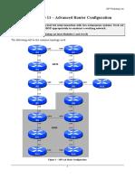 11a Adv Router Config Ospf
