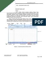Modul Excel 2007