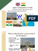 British Colonialism in India101