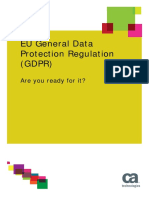 Study Eu General Data Protection Regulation Gdpr