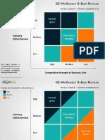 GE McKinsey Matrix PowerPoint