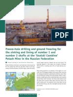 19 38-43 Freeze-hole Drilling and Ground Freezing