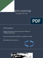 Kognitiv psykologi ht17