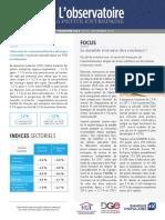 Observatoire de la petite entreprise n° 70 FCGA - Banque Populaire