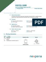 BUK9Y53-100B datasheet