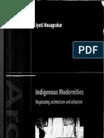 Indigenous modernities