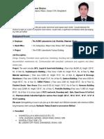 Curriculum Vitae_Khondokar Golam Sarowar Dholon-
