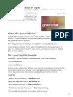Adjetivos Compuestos en Inglés b2