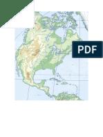 America Norte Fisico Mudo