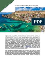 Avrupa'Ya Yerleşmeyi Düşünenler İçin en Bütçe Dostu Ülke Malta