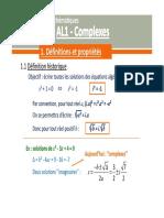 al1 - complexes - diapos - rev2018