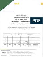~$I. SOMMAIRE DE L ETUDE... 3 II. MISSION DE FONDASOL DANS LE CADRE DE L INTERVENTION... 4 III. ANALYSE GEOTECHNIQUE DU SITE... 5.pdf