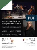 Nieuwjaarsconcerten Katelijne Billet & Stringendo Ensemble