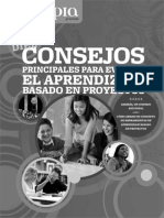 Edutopia Guia Diez Consejos Para Evaluar PBL Espanol Para Imprimir