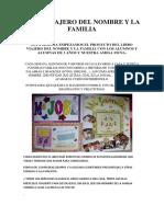 Libro Viajero Del Nombre y La Familia