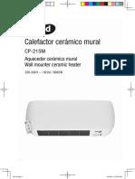 Calefactor Térmico Mural