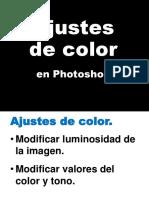 Photoshop - Ajustar Luces y Color