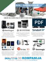 3D Stampa - Brendovi i Desktop
