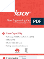New Capability Announcement RRH HUAWEI 20160708