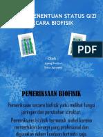 Penilaian Status Gizi Secara Biofisik Ppt