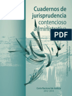 CUADERNO DE JURISPRUDENCIA CONTENCIOSO ADMINISTRATIVO.pdf