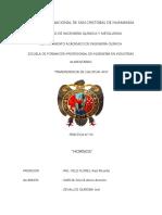Informe n 9 Hornos
