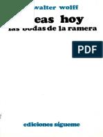 Oseas Hoy, Las Bodas de La Ramera