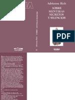 Adrienne Rich-Sobre mentiras, secretos y silencios-Barcelona (1983).pdf