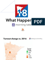 2018 Results Maps - First Draft