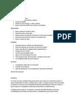 Ejemplo de Matriz FODA  y recomendaciones