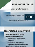 Inzenjerske Optimizacije Loznica 2010 Cirovi