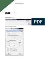 Procedimento Para Configuração Do Registro de Eventos