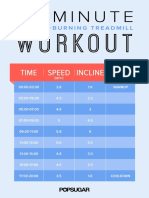 Fitness 20MinTreadmill Print