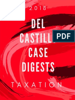 Taxation cases for bar 2018