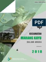 Kecamatan Marang Kayu Dalam Angka 2018.pdf
