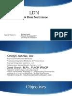 Naltrexone & Low-Dose Naltexone