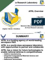 2015 AFRL Presentation on Materials