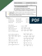 Refuerzo Ecuaciones