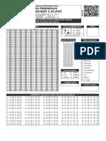 Ljk Format Folio f4 Pilihan Ganda Dan Essay