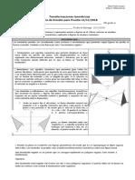 Transformaciones Guía  Isométricas 8°