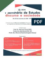 Seminário de Análise do Discurso