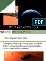ppt 12 - Diferenciação da Terra