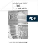 The Georgian Group Guides N7 MOULDINGS