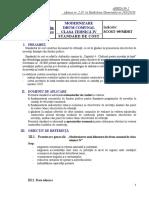 Indicativ SCOST-09-MDRT Modernizare Drum Comunal. Clasa Tehnica IV. Standard de Cost