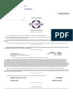 Kinkisa Pharmaceuticals Ltd.