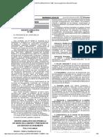 DECRETO LEGISLATIVO N° 1280 - Norma Legal Diario Oficial El Peruano